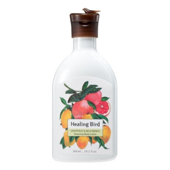 [Healing Bird] Botanical Body Lotion (Grapefruit & Wild Mango)