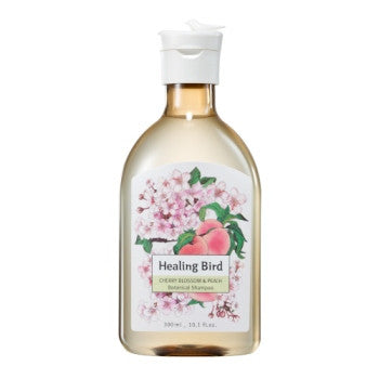 [Healing Bird] Botanical Shampoo (Cherry Blossom & Peach)