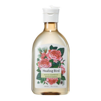 [Healing Bird] Botanical Shampoo (Rose & Cedarwood)