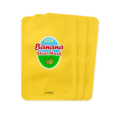 [APIEU] Banana & Milk Sheet Mask (3ea)