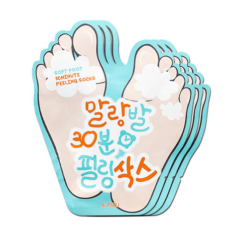 [APIEU] Soft Foot Peeling Socks (3ea)