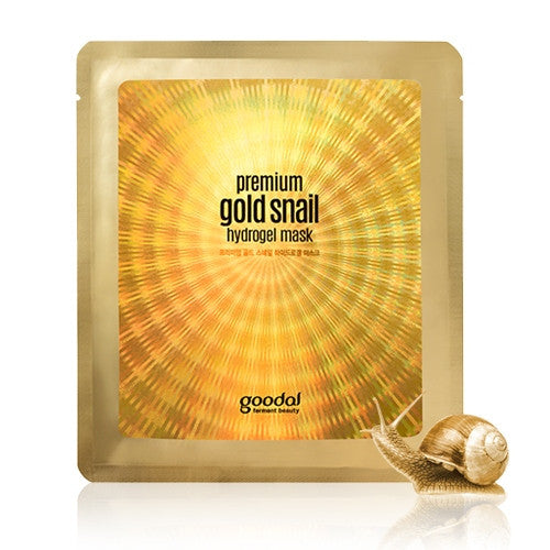 [GOODAL] Premium Gold Snail Hydro Gel Mask