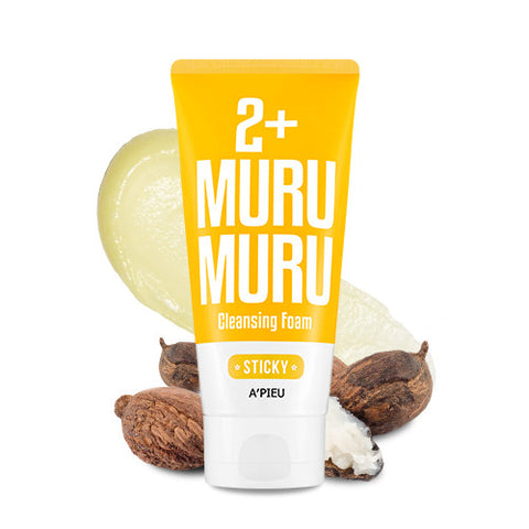 [APIEU] 2+ Cleansing Foam - Muru Muru (Sticky)