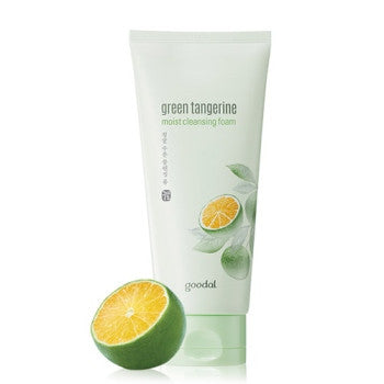 [GOODAL] Green Tangerine Moist Cleansing Foam