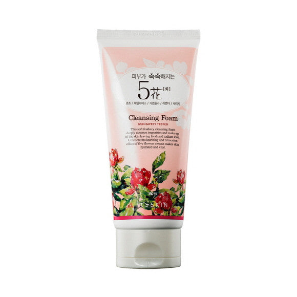 [It'S SKIN] Five Flowers Cleansing Foam