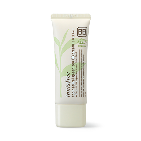 [Innisfree] Eco Natural Green Tea Bb Cream