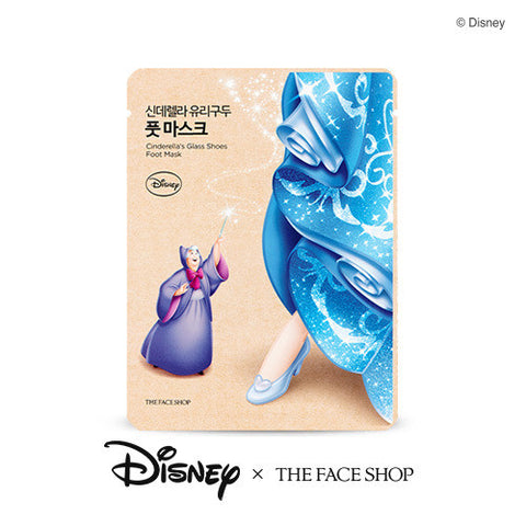 [THE FACE SHOP] Cinderella's Glass Shoes Foot Mask (Disney_Princess)