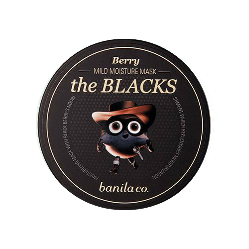 [banila co.] The Blacks Mild Moisture Mask Berry