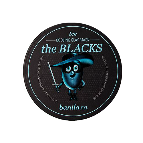 [banila co.] The Blacks Cooling Clay Mask Ice