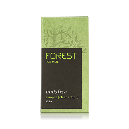 [innisfree] Forest For Men Skinpad [Clear Cotton]