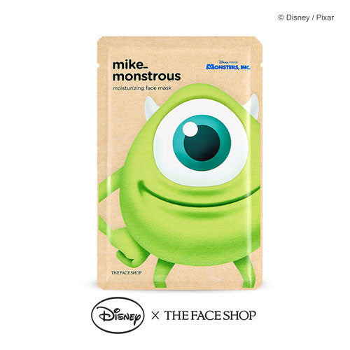 [THE FACE SHOP] Mike_Monstrous Moisturizing Face Mask (Disney)