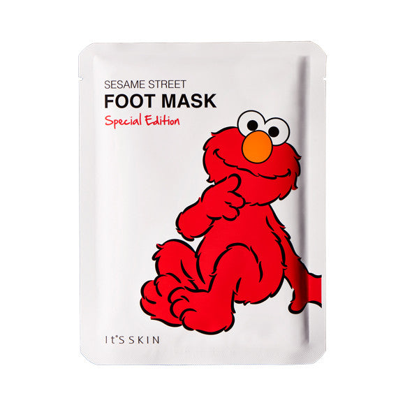[IT'S SKIN] Sesame Street Foot Mask Special Edition