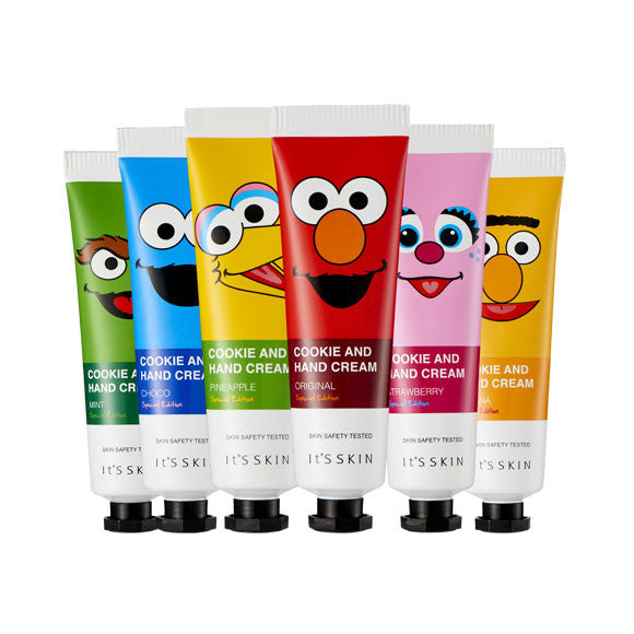 [IT'S SKIN] Cookie and Hand Cream Special Edition - Sesame Street