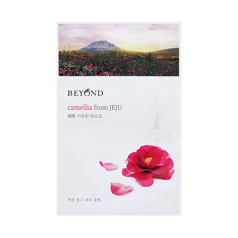 [Beyond] Camellia From JEJU Sheet Mask