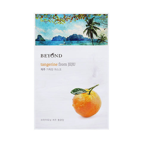 [Beyond] Tangerine From JEJU Sheet Mask