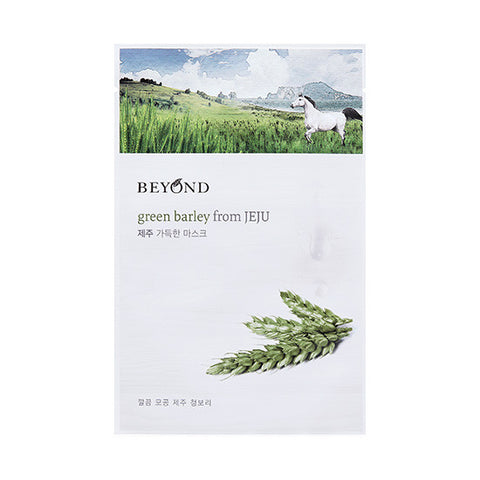[Beyond] Green Barley From JEJU Sheet Mask