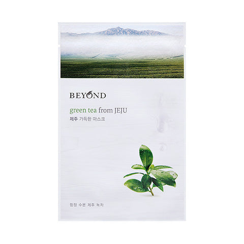 [Beyond] Green Tea From JEJU Sheet Mask