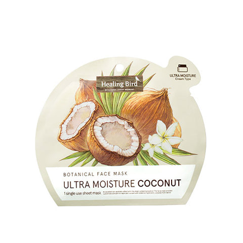 [Healing Bird] Botanical Face Mask Coconut