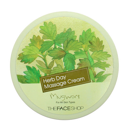 [THE FACE SHOP] Herb Day Massage Cream Mugwort