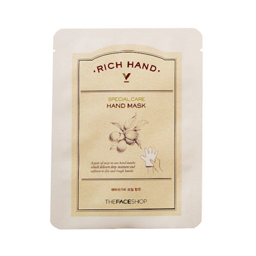 [THE FACE SHOP] Rich Hand V Special Care Hand Mask