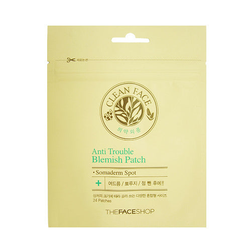 [THE FACE SHOP] Cleanface Anti Trouble Blemish Patch