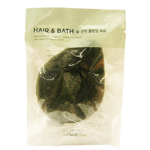[THE FACE SHOP] Daily Beauty Tools Charcoal Konjac Cleansing Puff
