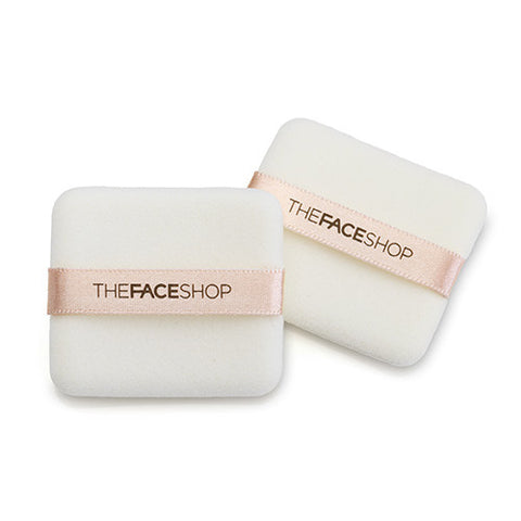 [THE FACE SHOP] Daily Beauty Tools Flocking Puff (Square)