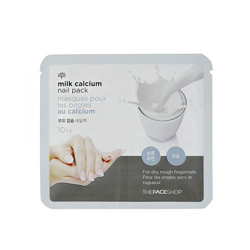 [THE FACE SHOP] Milk Calcium Nail Pack