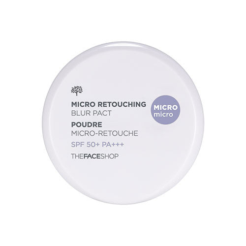 [THE FACE SHOP] Micro Retouching Blur Pact SPF50+ PA+++ (Refill only)
