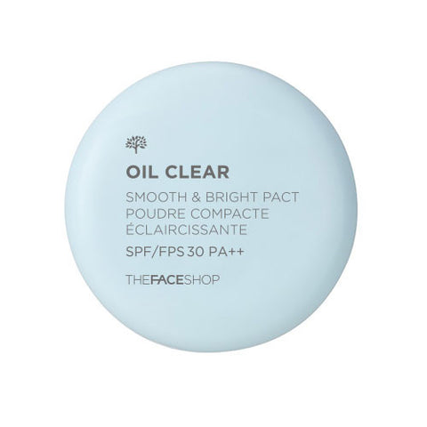 [THE FACE SHOP] Oil Clear Smooth & Bright Pact SPF30 PA++