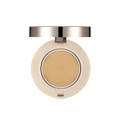 [THE FACE SHOP] Gold Collagen Ample Two Way Pact N205 SPF30/PA+++ - Dark Beige