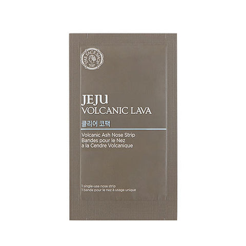 [THE FACE SHOP] Jeju Volcanic Lava Volcanic Ash Nose Strip 1+1