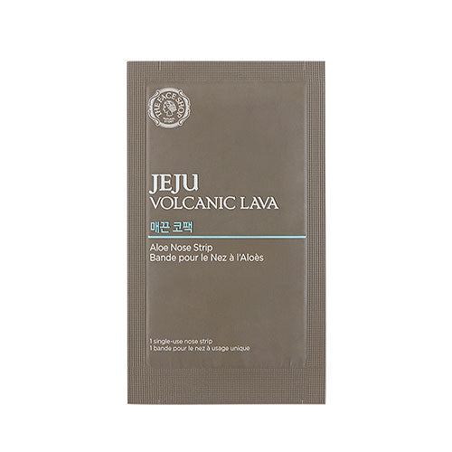 [THE FACE SHOP] Jeju Volcanic Lava Aloe Nose Strip