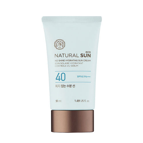 [THE FACE SHOP] Natural Sun Eco No Shine Hydrating Sun Cream SPF40/ PA +++