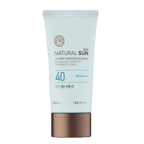 [THE FACE SHOP] Natural Sun Eco No Shine Hydrationg Sun Cream SPF40 PA +++ (100ml)