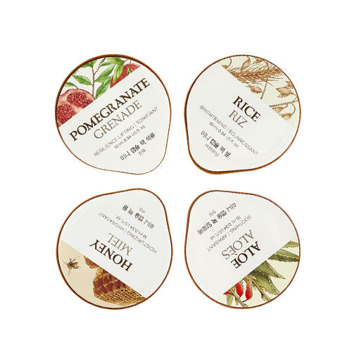 [THE FACE SHOP] Mini Capsule Pack Deluxe Set Of 4 Face Masks