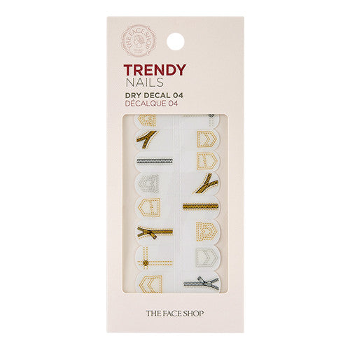 [THE FACE SHOP] Trendy Nails Dray Decal 04