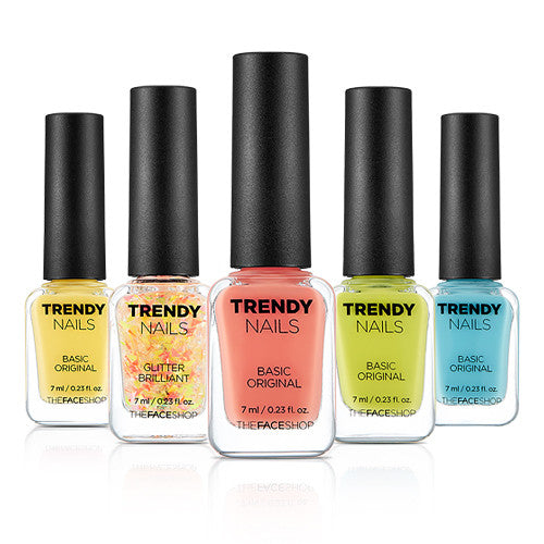 [THE FACE SHOP] Trendy Nails Festival Edition