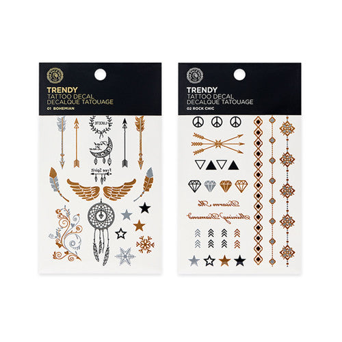 [THE FACE SHOP] Trendy Nails Body Tattoo Decal