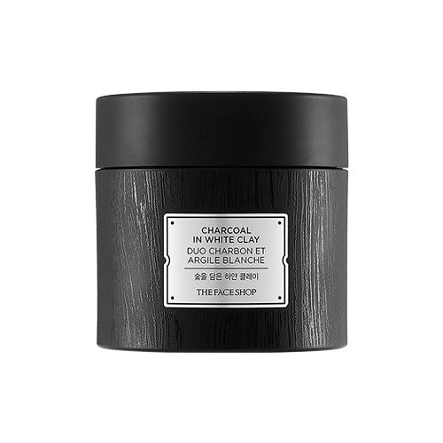 [THE FACE SHOP] Charcoal In White Clay
