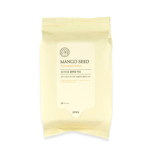 [THE FACE SHOP] Mango Seed Cleansing Wipes (for travel)