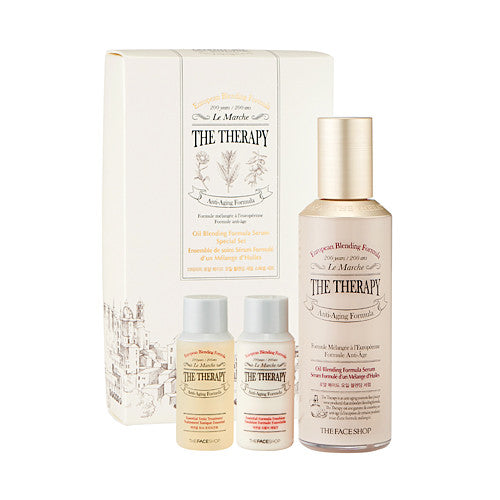 [THE FACE SHOP] The Therapy Royal Made Oil Blending Serum Speical SET