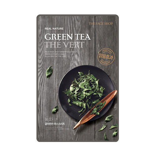 [THE FACE SHOP] Real Nature Sheet Mask_Green Tea