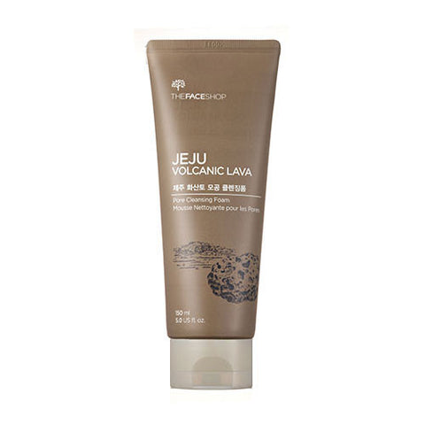 [THE FACE SHOP] JEJU Volcanic Lava Pore Cleanisng Foam