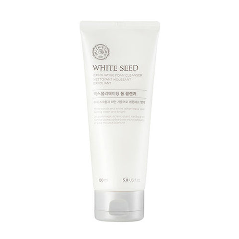 [THE FACE SHOP] White Seed Exfolating Foam Cleanser