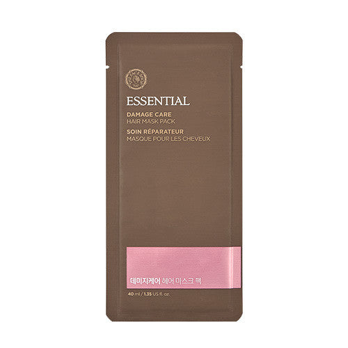 [THE FACE SHOP] Essential Damage Care Hair Mask Pack