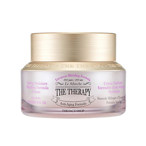 [THE FACE SHOP] The Therapy Royalmade Moisture Blending Tone Up Cream