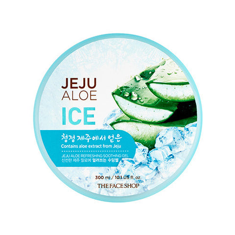 [THE FACE SHOP] Jeju Aloe Ice Soothing Gel