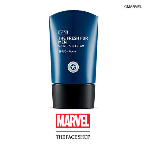 [THE FACE SHOP] The Fresh For Men Sports Sunscreen SPF50+/PA+++ (Marvel X The Face Shop)