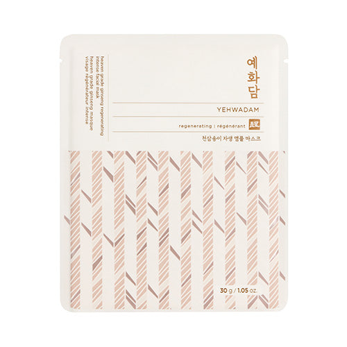 [THE FACE SHOP] Yehwadam Heaven Grade Ginseng Regenerating Intense Sheet Mask